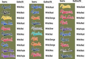 cool color names cool team names images frompo