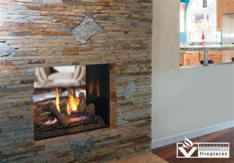 Montebello See Through Fireplace by Direct Vent Gas Fireplaces Montebello See Through Gas