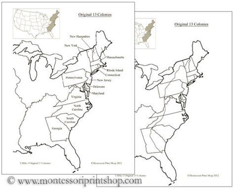 colonie map game p gt blank map of 13 original colonies printable blank