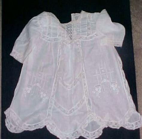 Hq 15296 Blue Guipure Dress Antique Dolls Hq Price Guide