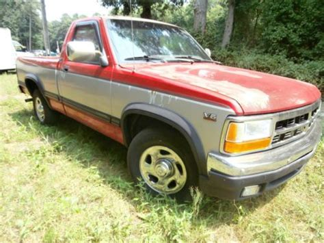 how to work on cars 1996 dodge dakota parental controls purchase used 1996 dodge dakota slt 3 9l v6 gas saving reliable clean work truck no reserve in