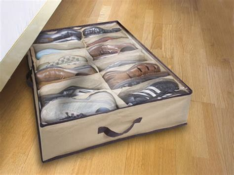 Shoe Organizer Bed by Underbed Shoe Storage Is Interesting Solution To Keep