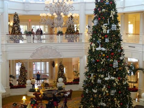 grand floridian christmas tree tree at the grand floridian in 2012 171 walt disney world magic