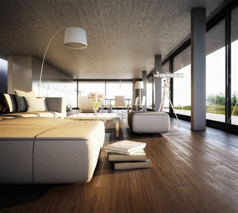 contemporary home interiors 3d adaptation of architect bruno erpicum s labacaho house