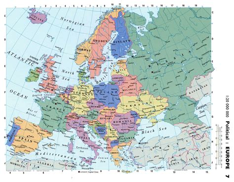 road map of europe maps of europe and european countries political maps