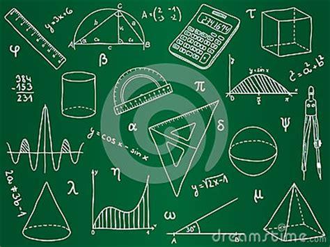 imagenes fondos matematicos iconos de las matem 225 ticas en tarjeta de escuela fotos de