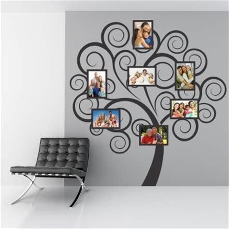 adesivi murali cornici adesivo murale albero portafoto stickers murali