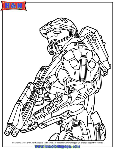 printable halo images halo 4 master chief coloring page free printable