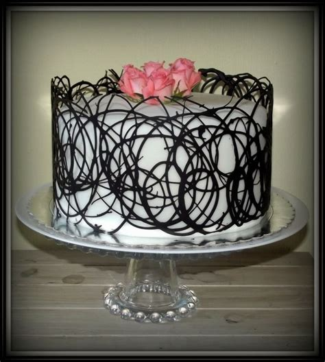 Chocolate Lace Decoration by Best 25 Chocolate Lace Cake Ideas On Chocolate Decorations Chocolate And