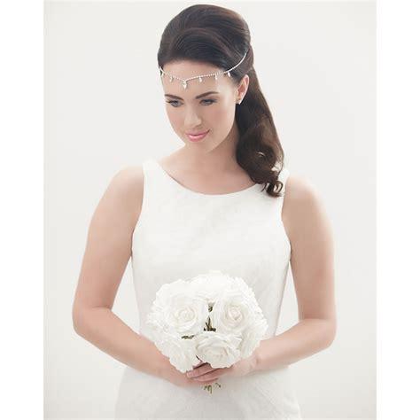 lena bridal forehead band bridal jewellery