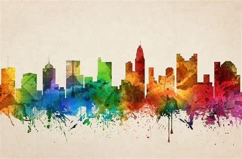 prim painting blog columbus ohio painting company blog columbus ohio skyline 05 painting by aged pixel
