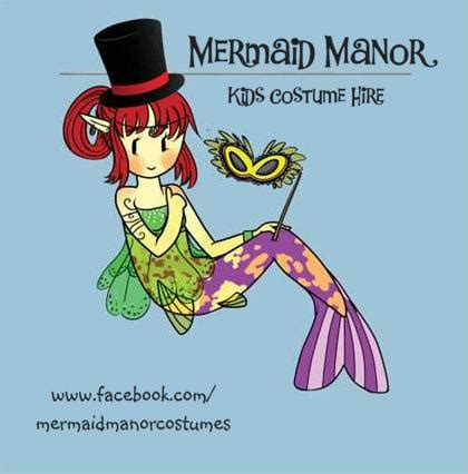 mermaid manor costume hire