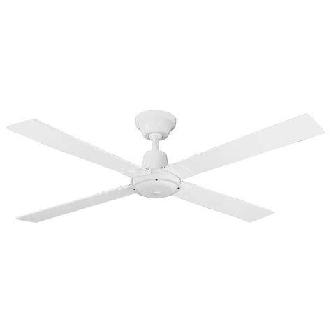 Bunnings Ceiling Fans With Lights Arlec 120cm 4 Blade White Ceiling Fan Bunnings Warehouse