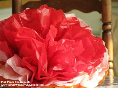 How To Make A Mexican Flower Out Of Tissue Paper - 31 crafty flowers day one mexican tissue paper flowers