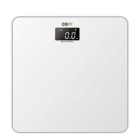 Smart Bathroom Scale Buy Cgfit Ultra Sonic Smart Bathroom Scale From Bed Bath Beyond