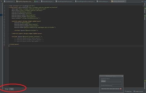 android studio missing layout android studio preview is missing in view gt tool windows