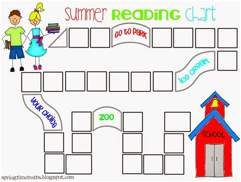 free printable reading graphs spring time treats updated reading chart free printable