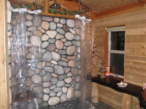 River Rock Bathroom by A Wonderfully Crafted Bathroom Vanity Picture Of