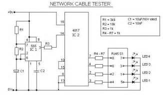 Design Basics Inc Network Rj45 Cable Tester Circuit