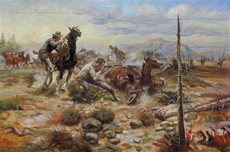 charles marion russell high quality oil painting when horseflesh comes high charles marion russell paintings