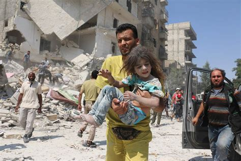 Syari Anes Aleppo Funeral Is Bombed Leaving At Least 16 Dead Syrian