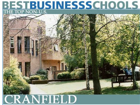 Cranfield Mba Fees by The Top Non Us Business Schools