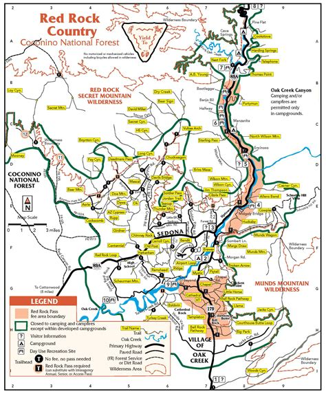 sedona map sedona s outlaw trail and the honanki ruins truck cer adventure