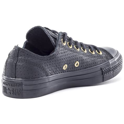 how to bar lace converse low tops chucks with leather laces for crafts