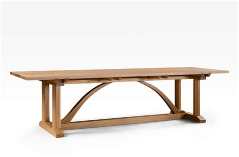 Arts And Craft Dining Table Arts And Crafts Dining Table 3000mm Lacewood Furniture
