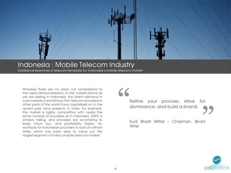 mobile telecom indonesia mobile telecom industry www solidiance