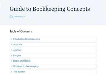 accounting couch guide to bookkeeping concepts accountingcoach pro
