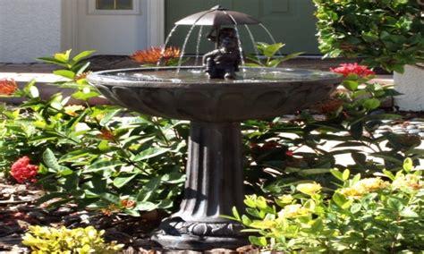 Pinterest Wall Decor by Ceramic Bird Bath Fountain Solar Great Home Decor