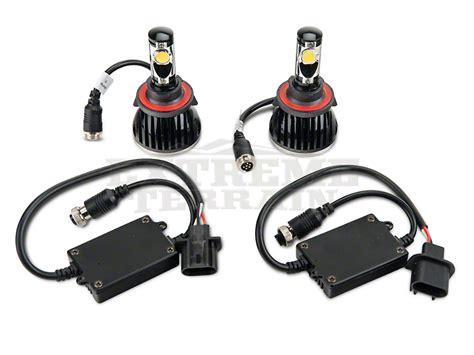 Jeep Jk Headlight Bulb Raxiom H13 Led Wrangler Replacement Bulb J100994 07 17