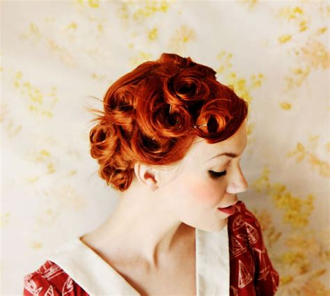 Pin Curl Hairstyles by How To Style Pin Curls A Beautiful Mess