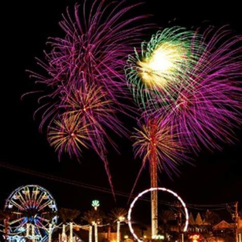 houston fireworks map kemah boardwalk presents fireworks fridays event