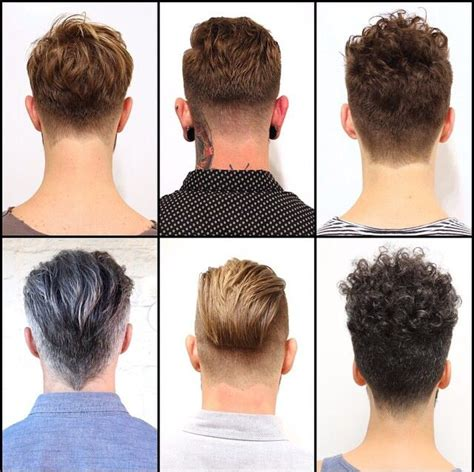mens haircuts back view it s all about the rear view a great haircut looks great