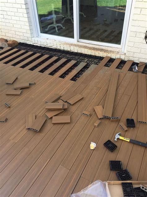 diy cool creative patio flooring ideas  garden glove