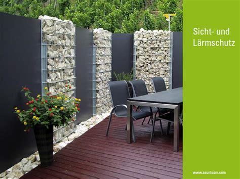 garten design zaun - Sicht Und Lärmschutz Für Den Garten
