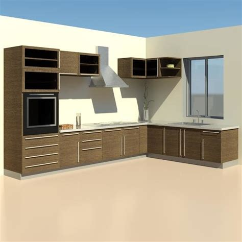 Revit Kitchen Cabinet Family Building Rfa Furniture Kitchen Cabinet