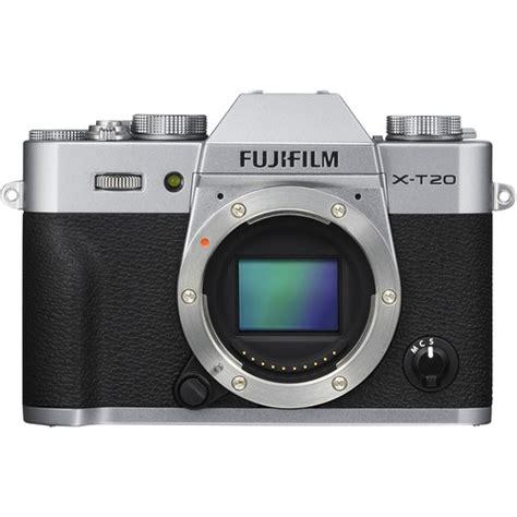 Fujifilm X T20 Mirrorless Digital Only Black fujifilm x t20 mirrorless digital 16542359 b h photo