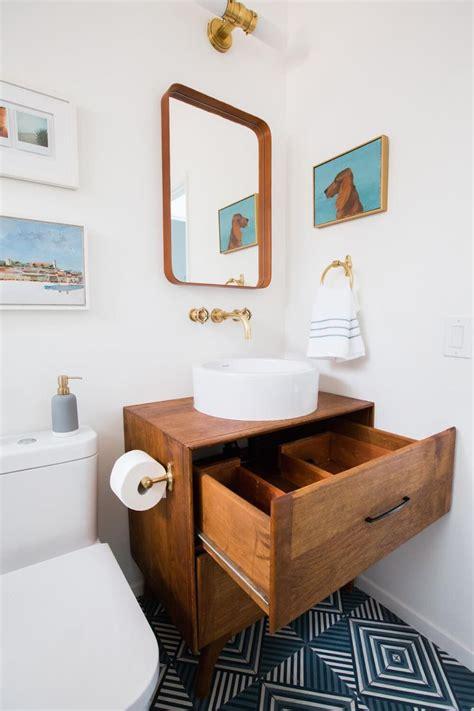 guest bathroom reveal shop    mid