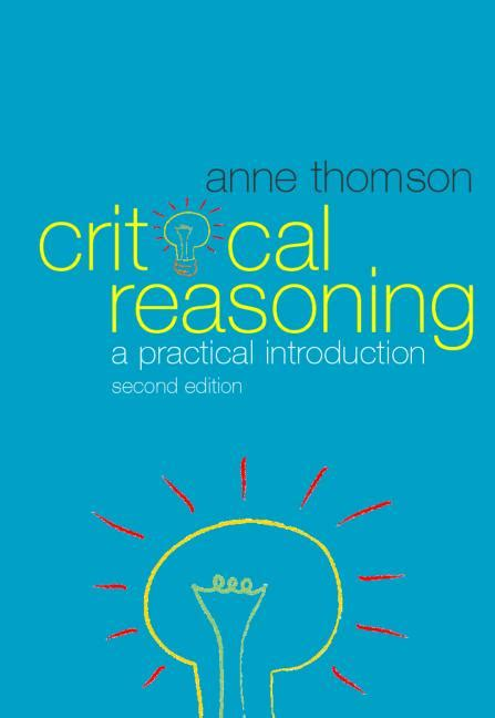 critical reasoning a practical introduction 2nd edition paperback routledge
