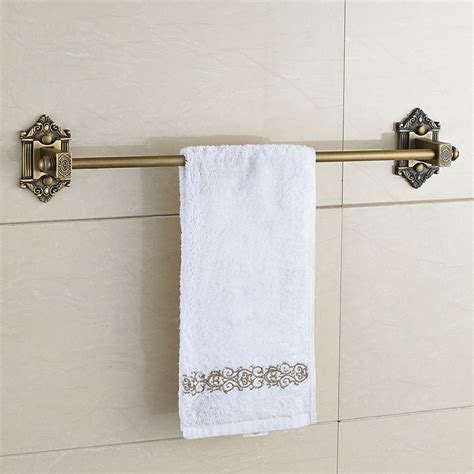 brass towel racks for bathrooms new european antique bronze bathroom wall mounted brass