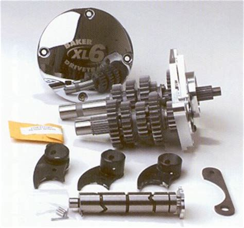 pattern drums of speed 6 speed sportster and buell transmission by baker for