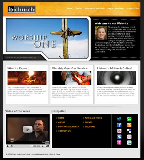 all the best church wordpress themes