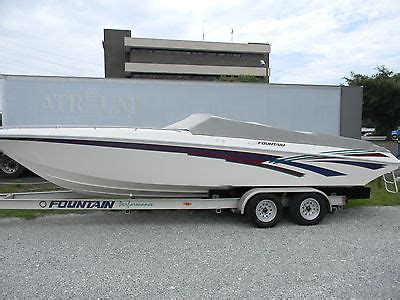 fountain 27ft fever boats for sale - 27 Ft Fountain Boats For Sale