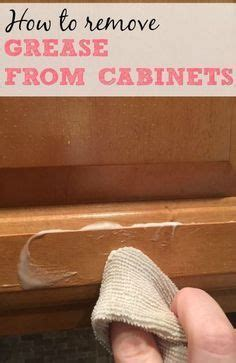 how to remove grease from wood cabinets remove cooking grease from wood cabinets