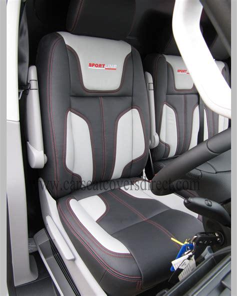 vw cer upholstery volkswagen vw transporter t5 leather retrim car seat