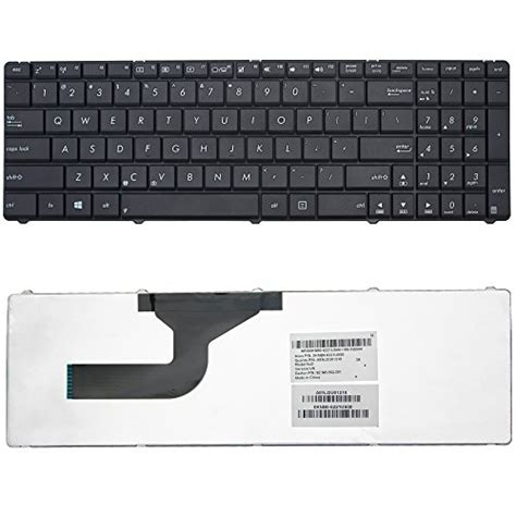 Pd617 Keyboard Asus N50 N50v N53 N53j N53jn N53jq N53sv N53sn lotfancy us shipping new black keyboard for asus a52