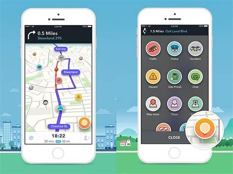waze app android s waze 4 0 update brings redesigned interface and more technology news